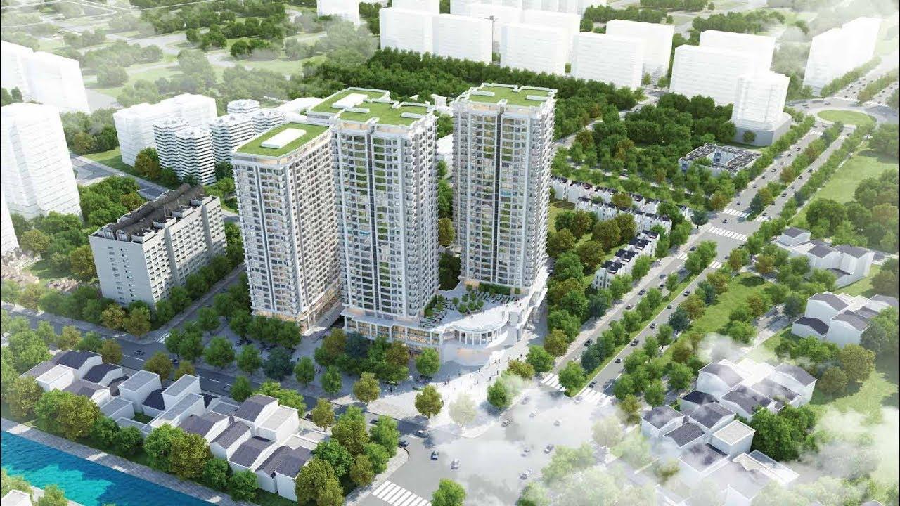 Phối cảnh dự án chung cư Iris Garden